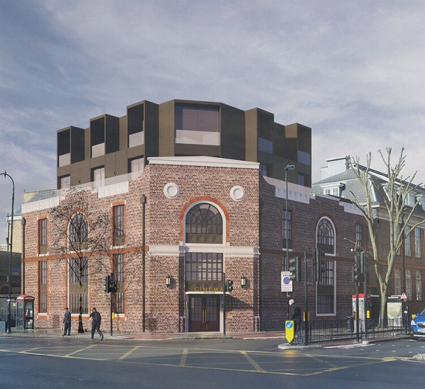 Kentish Town PIzza Express building